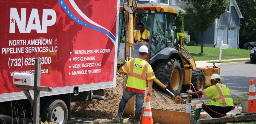 Sewer Line Repair | North American Pipeline Services NJ Sewer Repair and Replacement Services (732) 625-9300